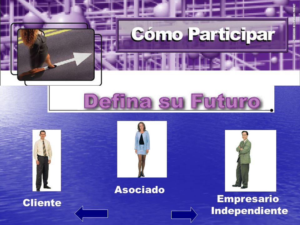 Asociado Cliente Empresario Independiente