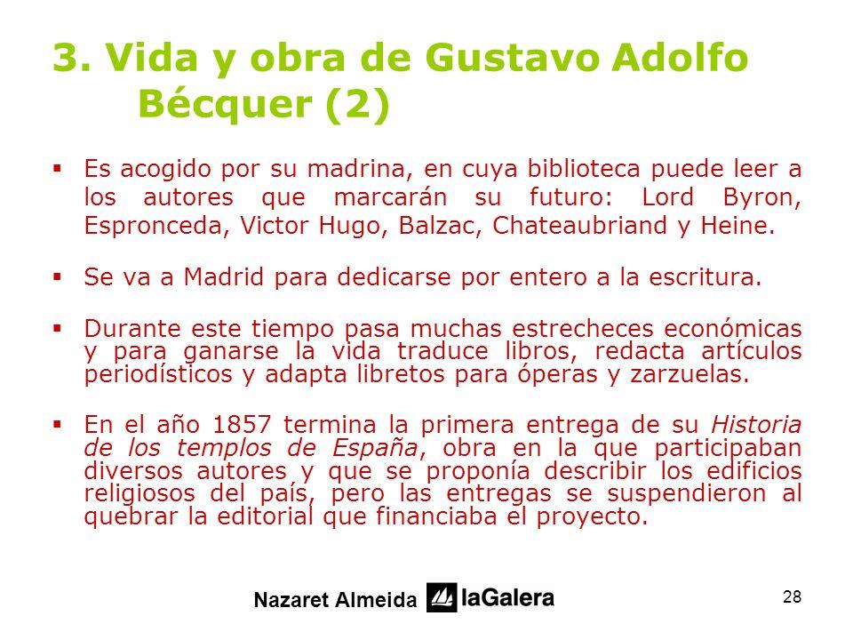 3. Vida y obra de Gustavo Adolfo Bécquer (2)