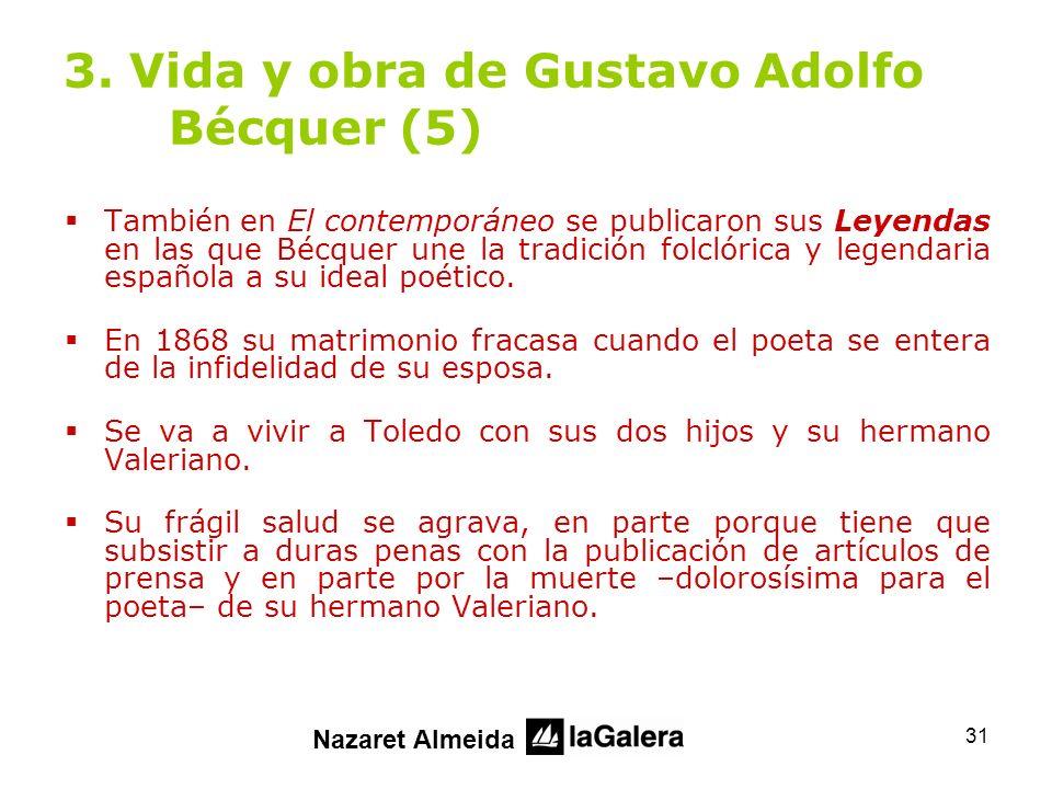 3. Vida y obra de Gustavo Adolfo Bécquer (5)