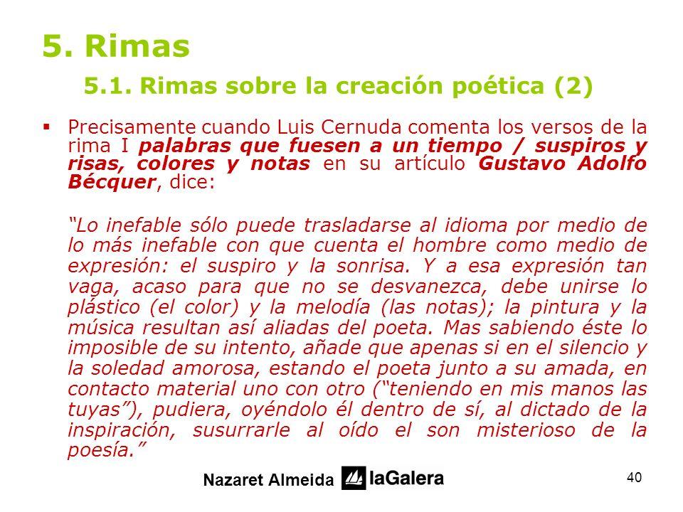 5. Rimas 5.1. Rimas sobre la creación poética (2)