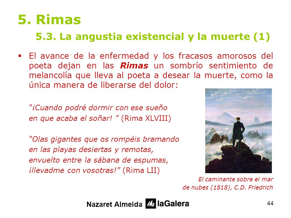 5. Rimas 5.3. La angustia existencial y la muerte (1)