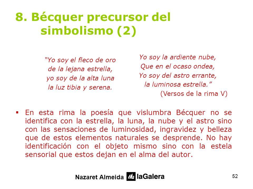 8. Bécquer precursor del simbolismo (2)