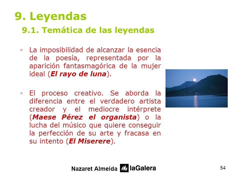 9. Leyendas 9.1. Temática de las leyendas