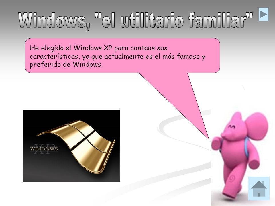 Windows, el utilitario familiar