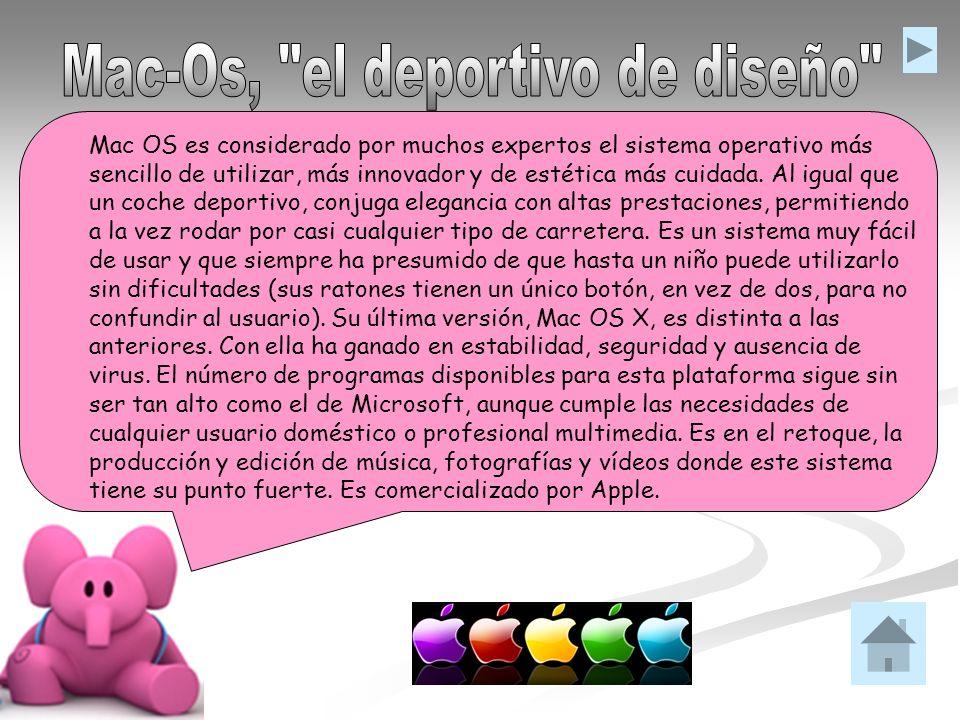 Mac-Os, el deportivo de diseño