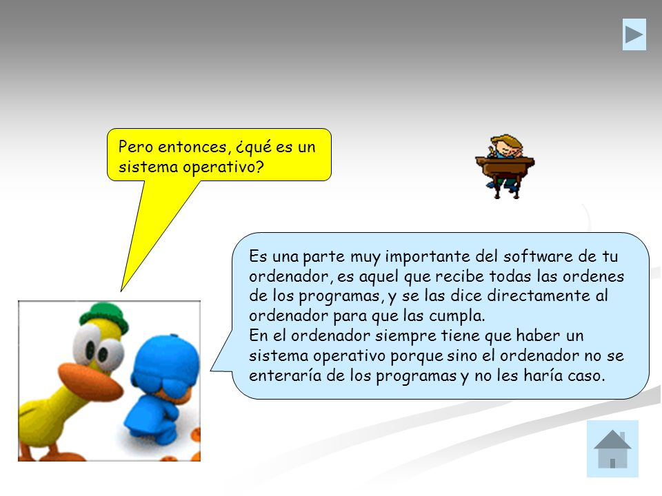 Pero entonces, ¿qué es un sistema operativo