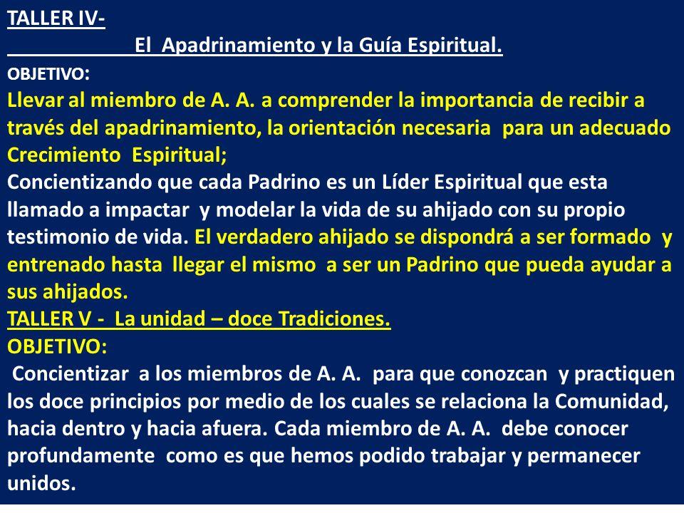 El Apadrinamiento y la Guía Espiritual.