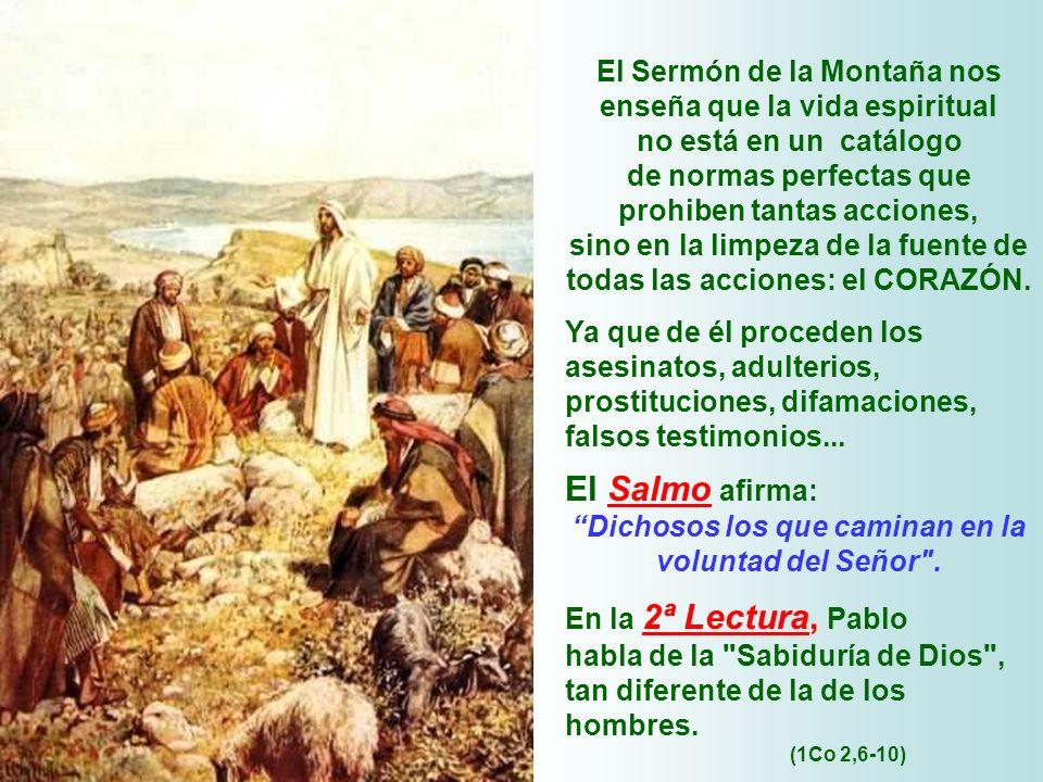 El Sermón de la Montaña nos enseña que la vida espiritual