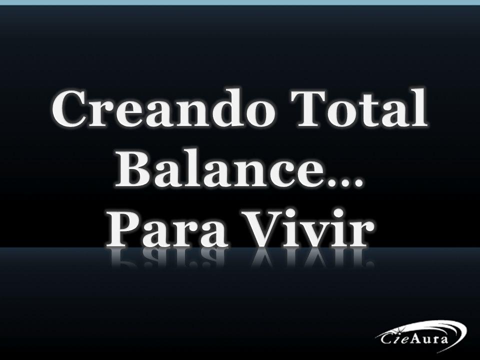 Creando Total Balance... Para Vivir