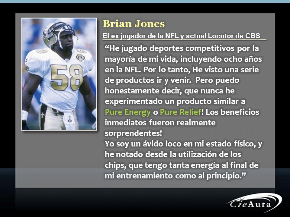 Brian Jones El ex jugador de la NFL y actual Locutor de CBS.