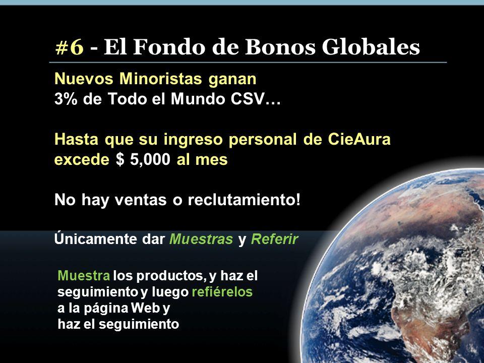 #6 - El Fondo de Bonos Globales