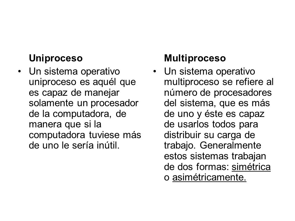 Uniproceso