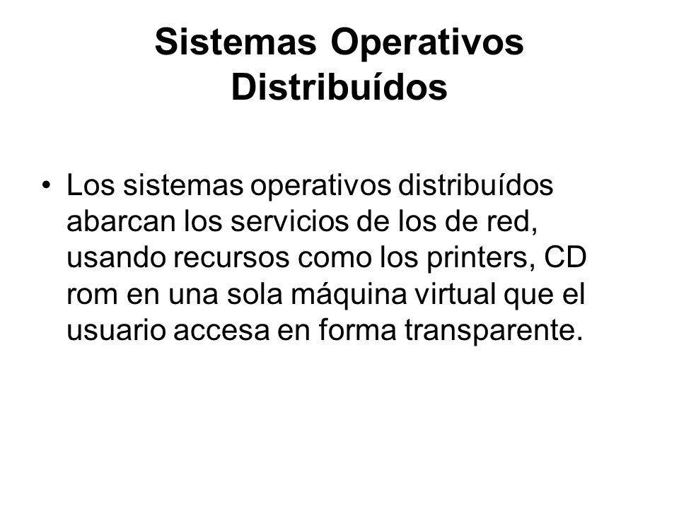 Sistemas Operativos Distribuídos
