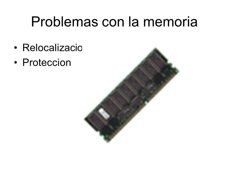 Problemas con la memoria