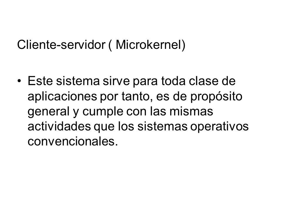 Cliente-servidor ( Microkernel)