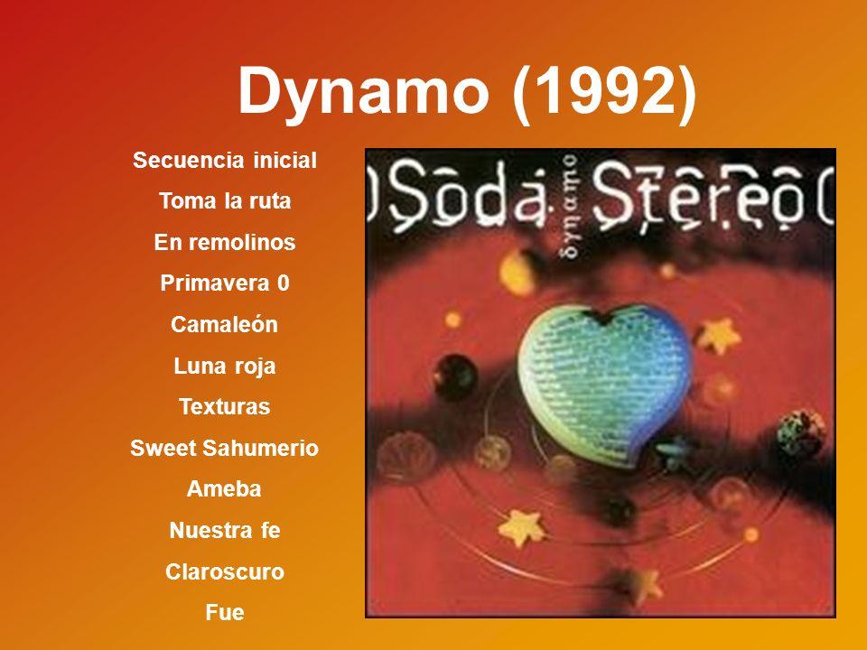 Dynamo (1992) Secuencia inicial Toma la ruta En remolinos Primavera 0