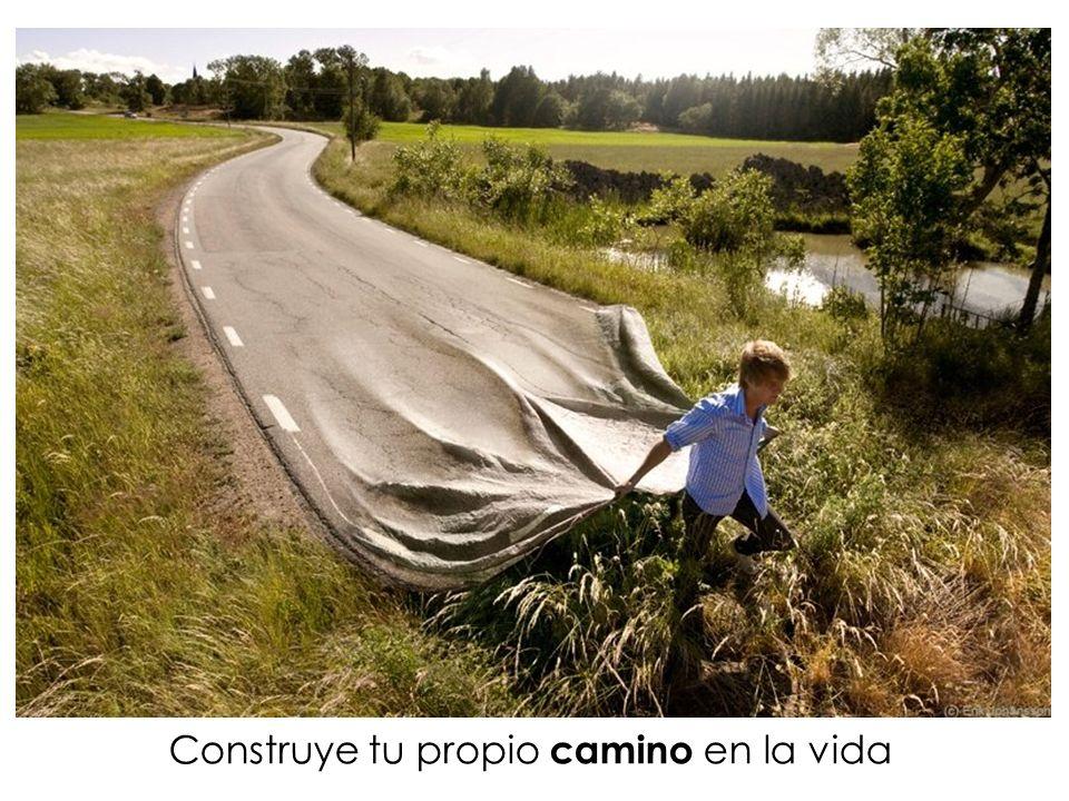 Construye tu propio camino en la vida