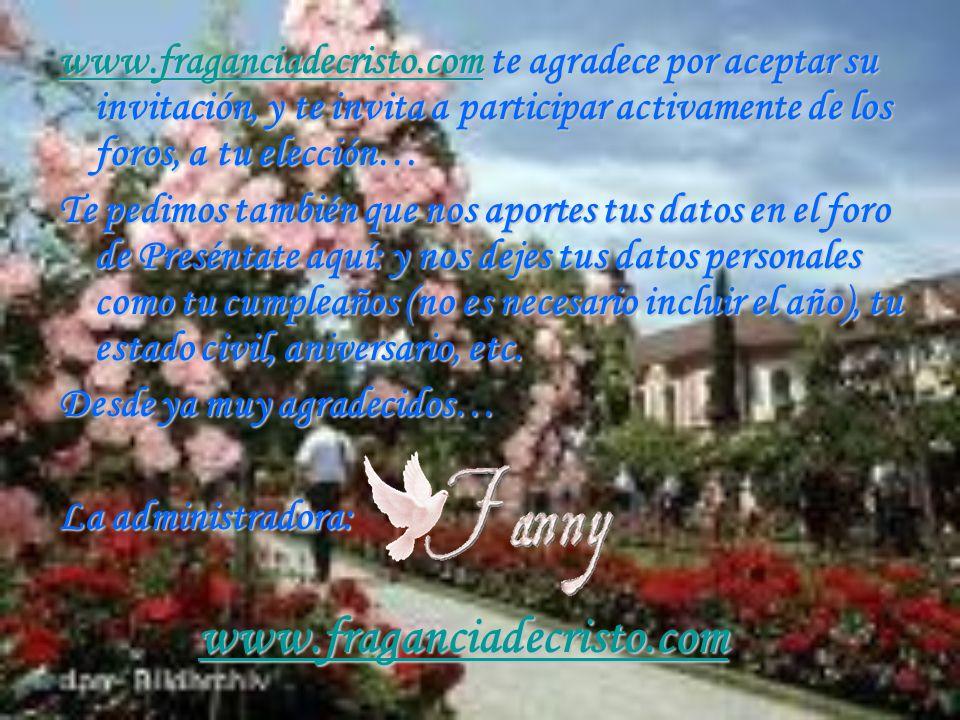 www. fraganciadecristo