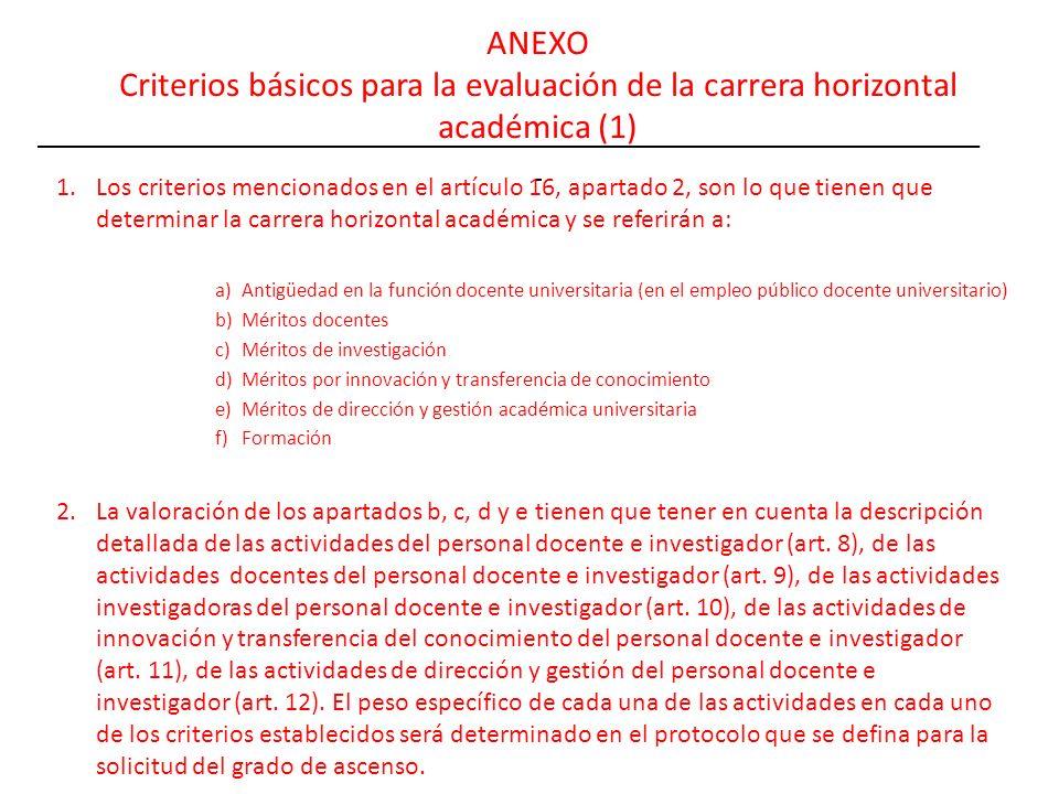 ANEXO Criterios básicos para la evaluación de la carrera horizontal académica (1)
