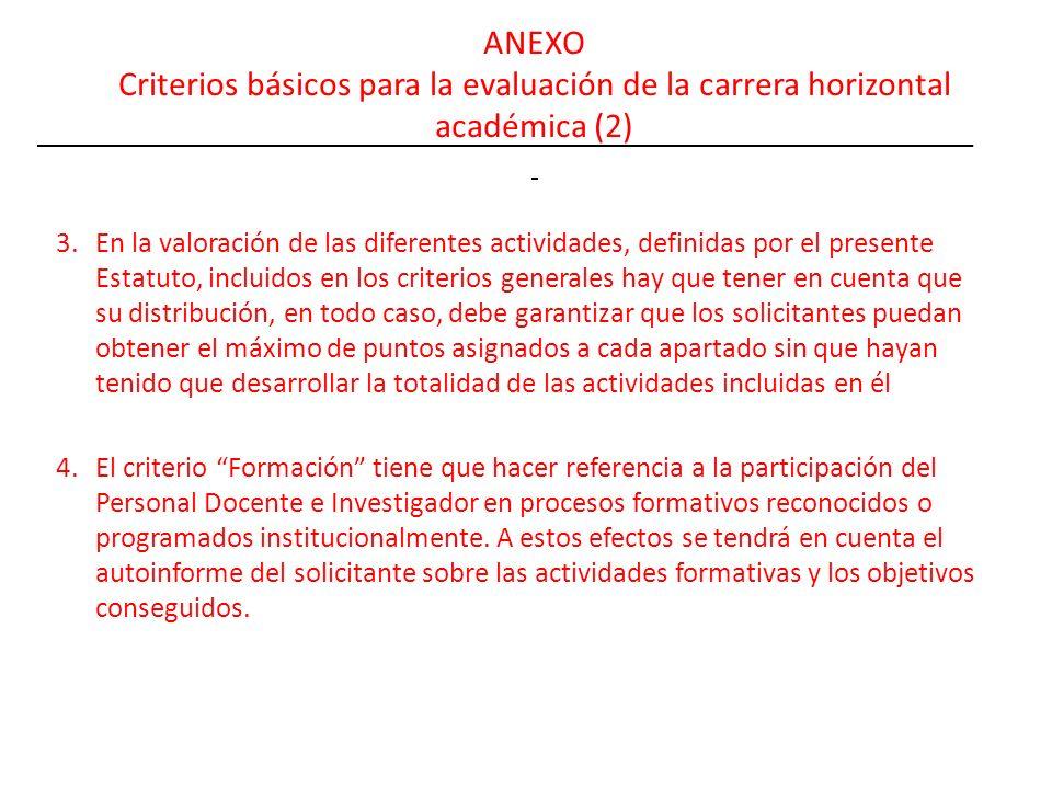 ANEXO Criterios básicos para la evaluación de la carrera horizontal académica (2)