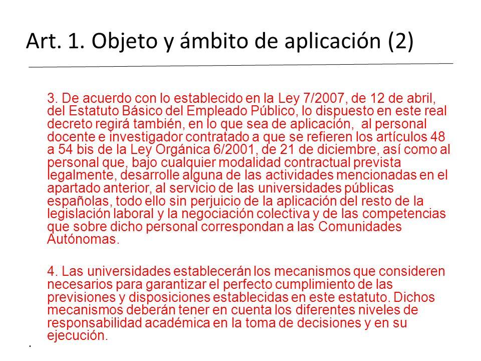 Art. 1. Objeto y ámbito de aplicación (2)