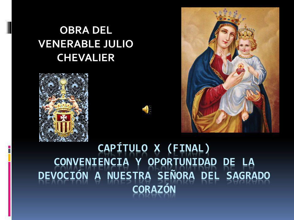 OBRA DEL VENERABLE JULIO CHEVALIER