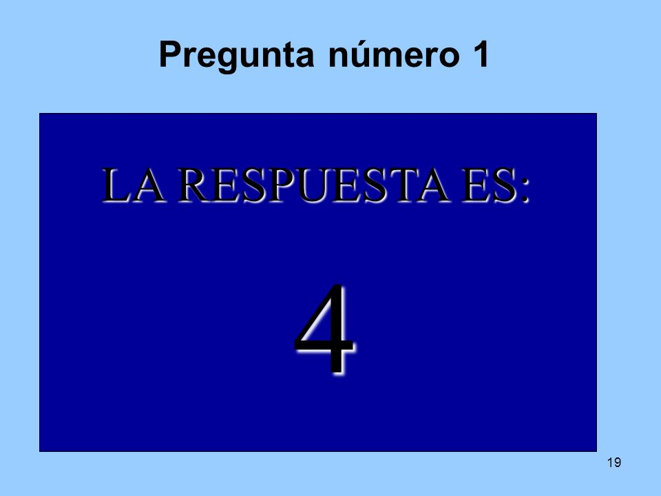 4 tiempo 6 4 7 2 1 8 3 9 10 5 LA RESPUESTA ES: