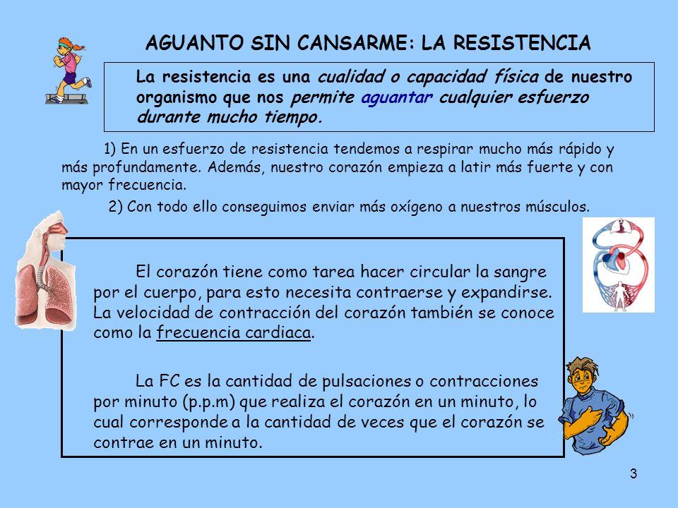 AGUANTO SIN CANSARME: LA RESISTENCIA