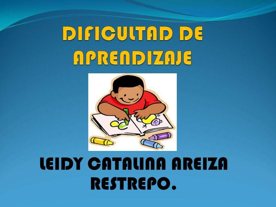 DIFICULTAD DE APRENDIZAJE