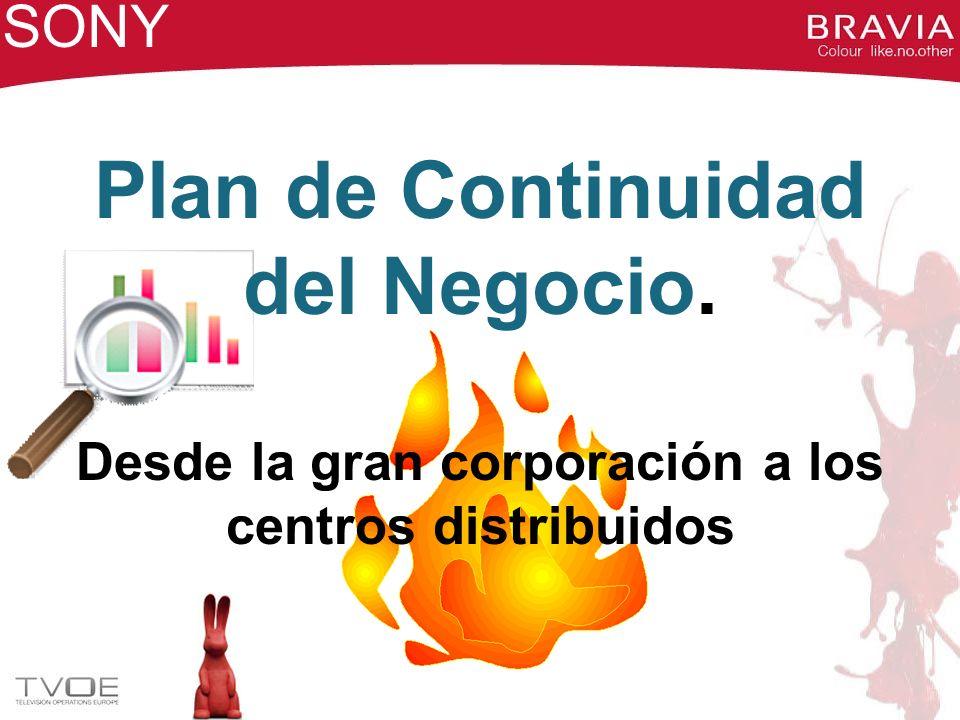 Plan de Continuidad del Negocio.