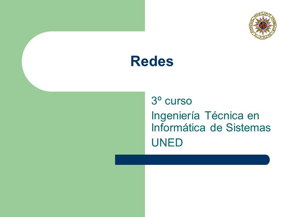 3º curso Ingeniería Técnica en Informática de Sistemas UNED