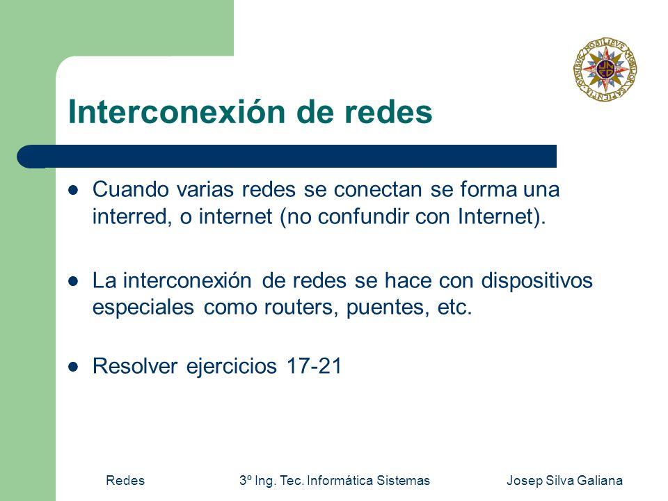 Interconexión de redes