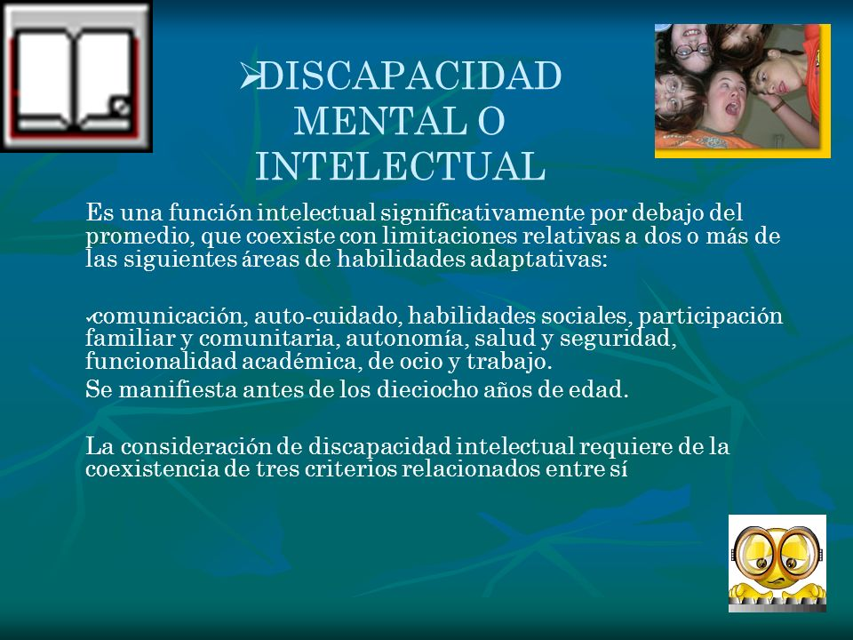 DISCAPACIDAD MENTAL O INTELECTUAL