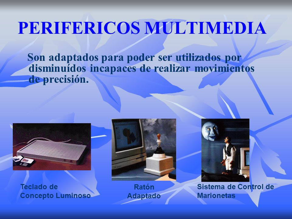 PERIFERICOS MULTIMEDIA