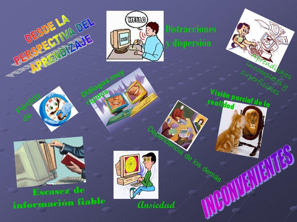 Escasez de información fiable