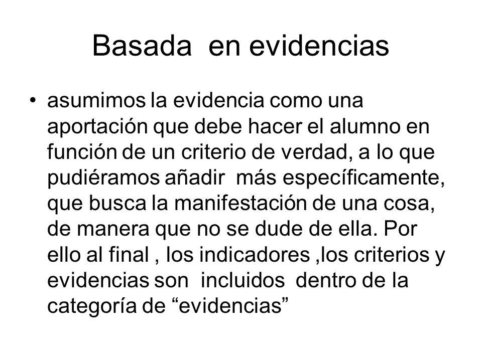 Basada en evidencias