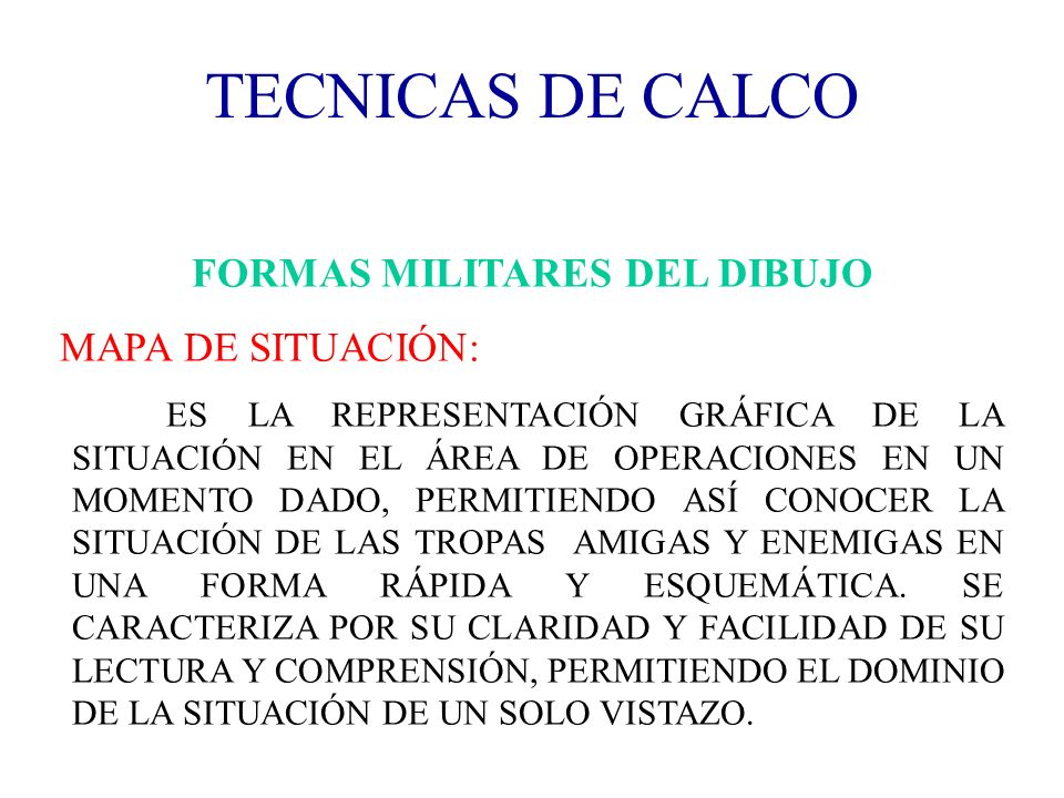 FORMAS MILITARES DEL DIBUJO