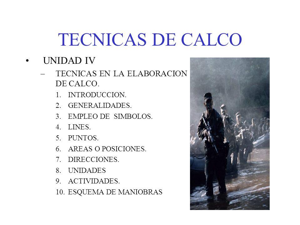 TECNICAS DE CALCO UNIDAD IV TECNICAS EN LA ELABORACION DE CALCO.