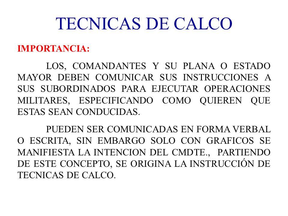 TECNICAS DE CALCO IMPORTANCIA: