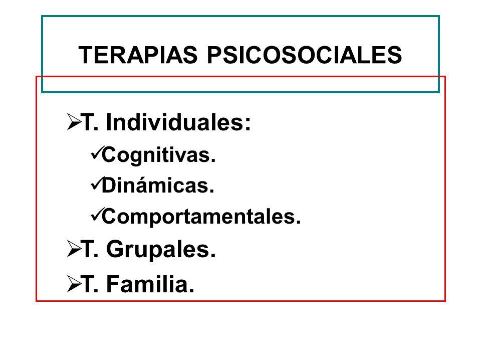 TERAPIAS PSICOSOCIALES