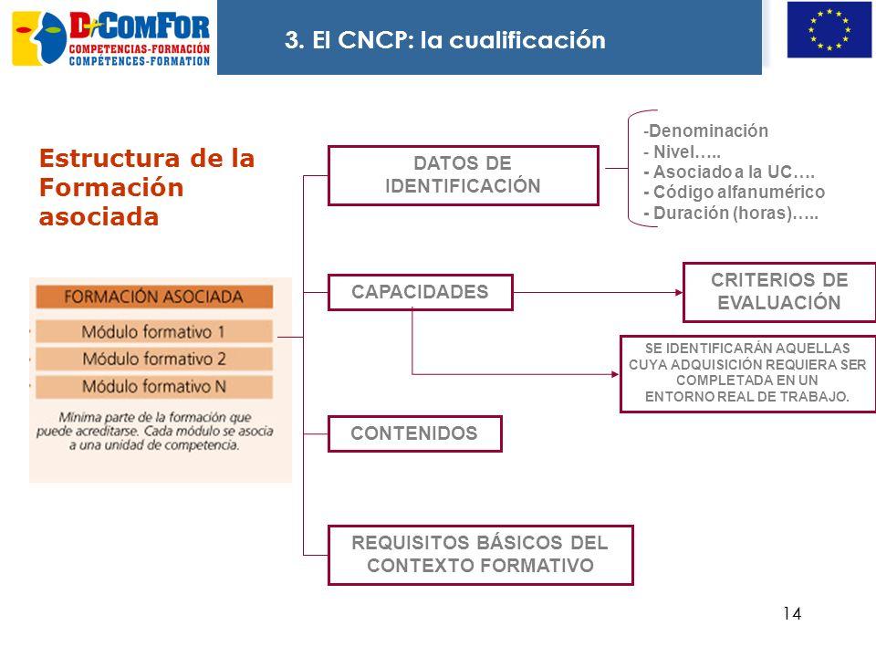 3. El CNCP: la cualificación