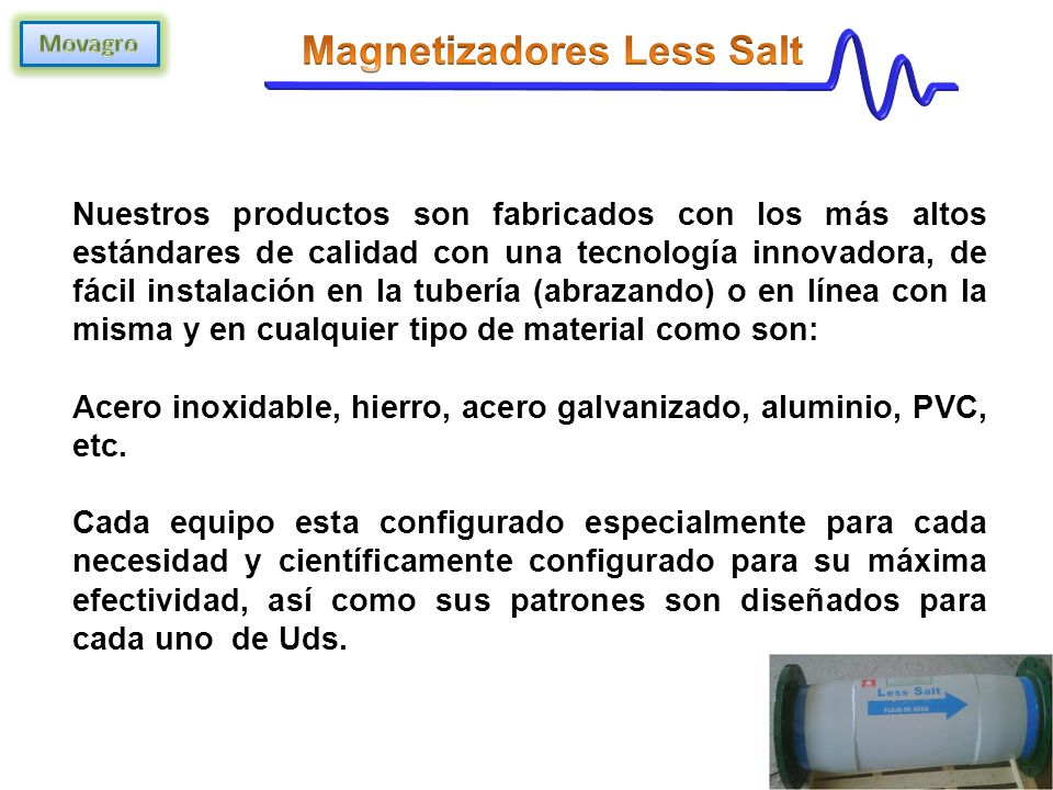 Magnetizadores Less Salt