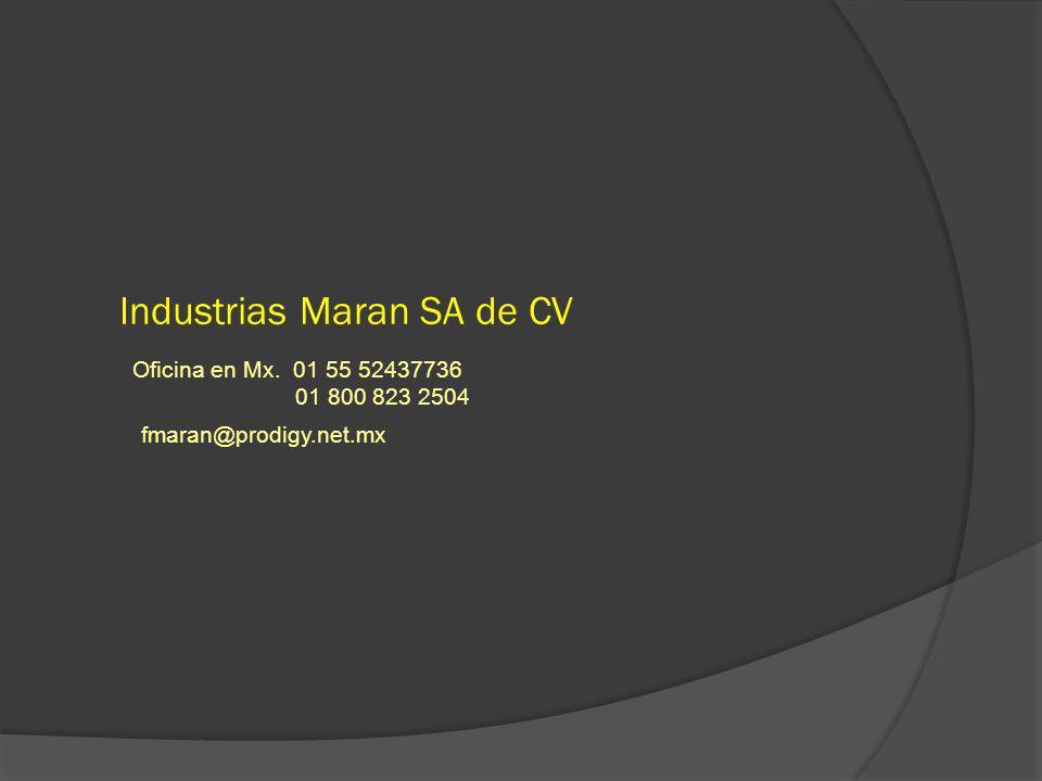 Industrias Maran SA de CV