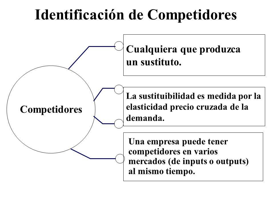 Identificación de Competidores