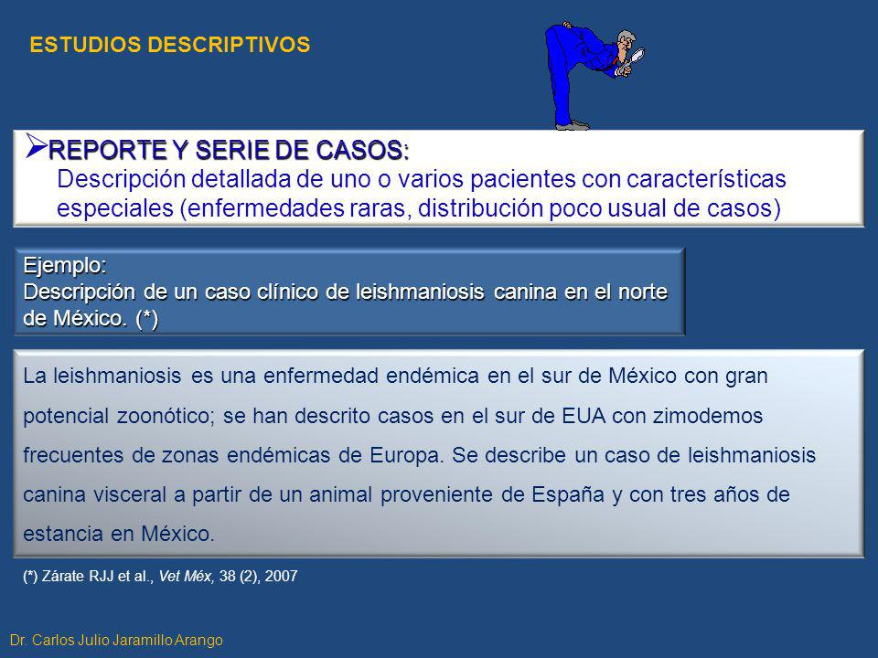 REPORTE Y SERIE DE CASOS: