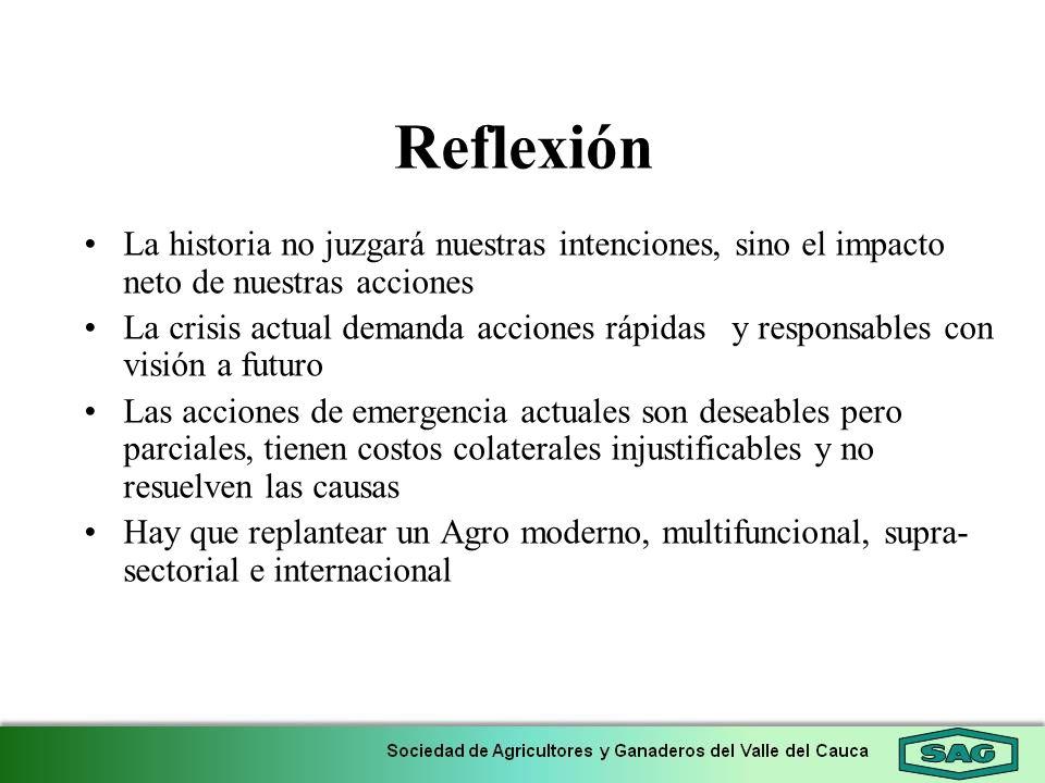 Reflexión La historia no juzgará nuestras intenciones, sino el impacto neto de nuestras acciones.