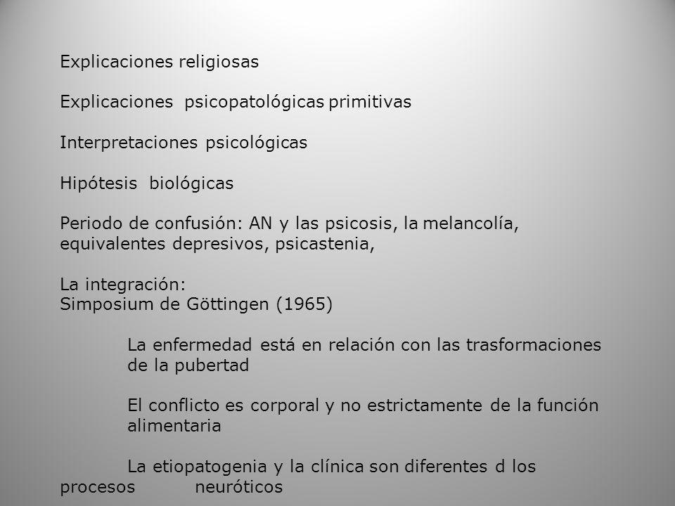 Explicaciones religiosas
