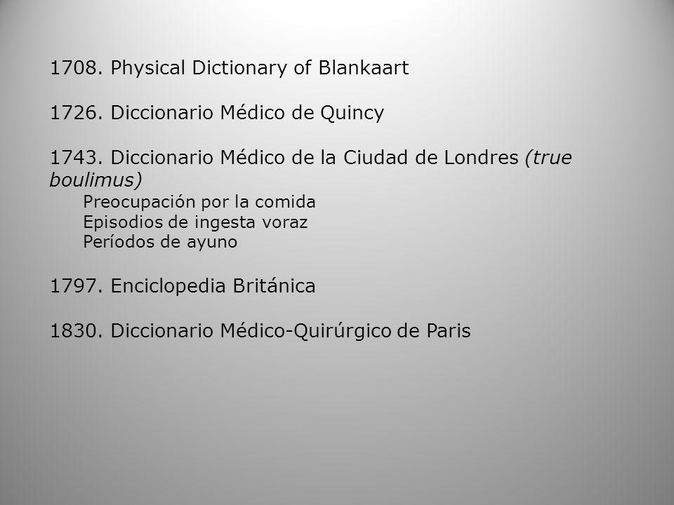 1708. Physical Dictionary of Blankaart