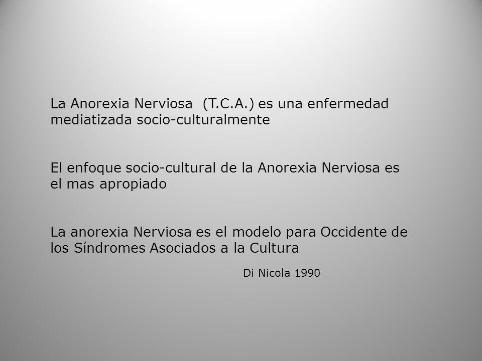 La Anorexia Nerviosa (T. C. A