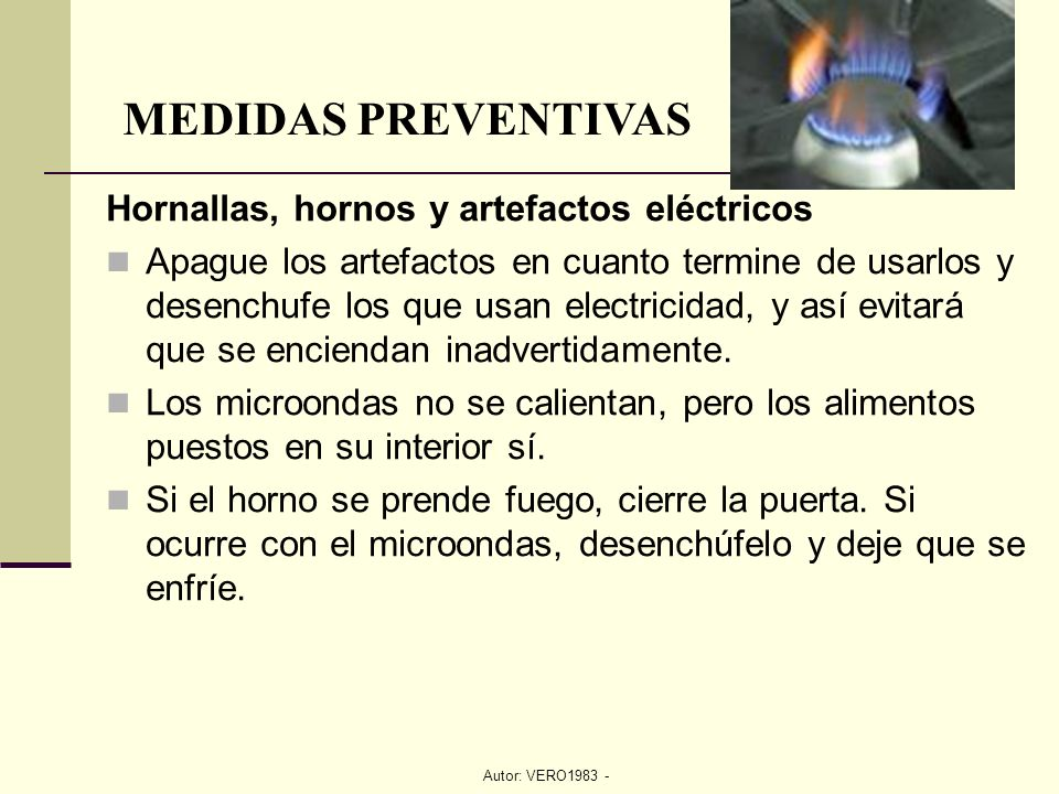 Prevenci n y lucha cocinas ppt video online descargar for Medidas de hornos electricos